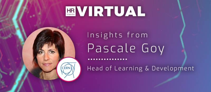 Meet the speakers: Pascale Goy, Head of Learning & Development at CERN
