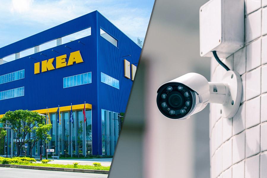 IKEA staff find 'HIDDEN' cameras in staff toilets and locker areas