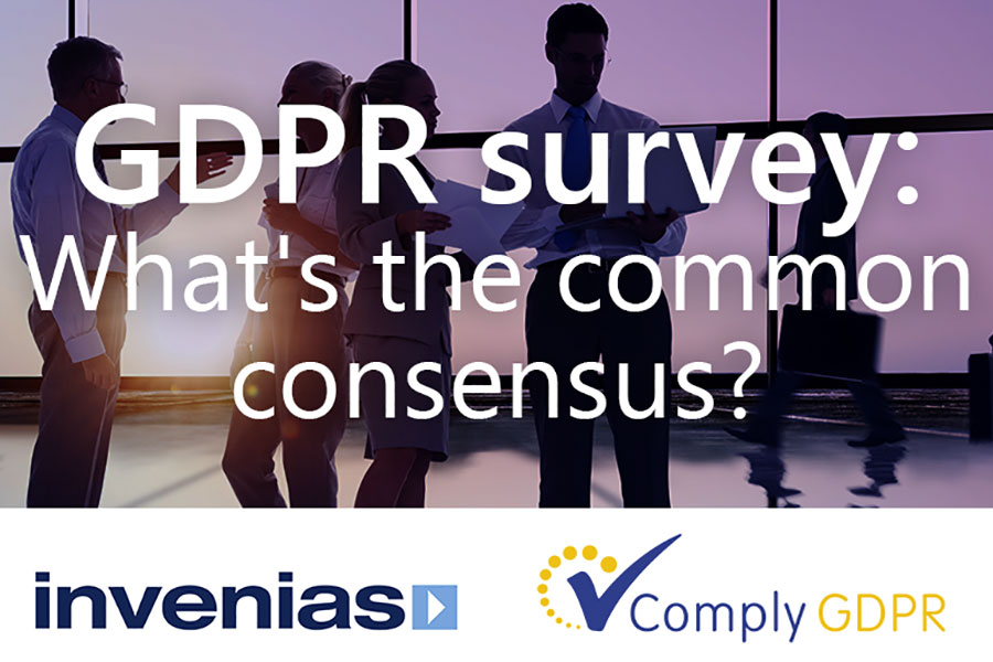 Invenias GDPR survey write-up: What's the common consensus?