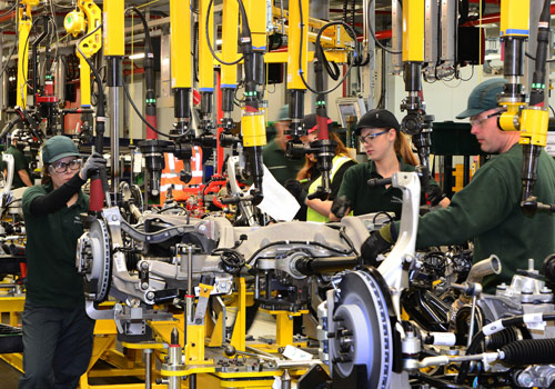 Thousands Of Jobs Created By 400m Jaguar Land Rover Investment In Birmingham Executive Recruitment Executive Grapevine