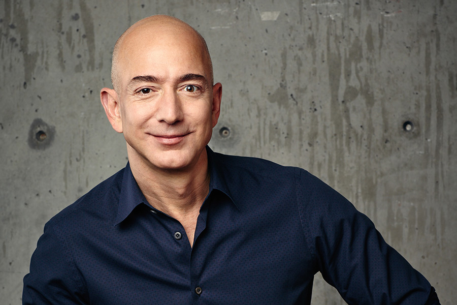 "Amazon boss ""richest man in modern history"""