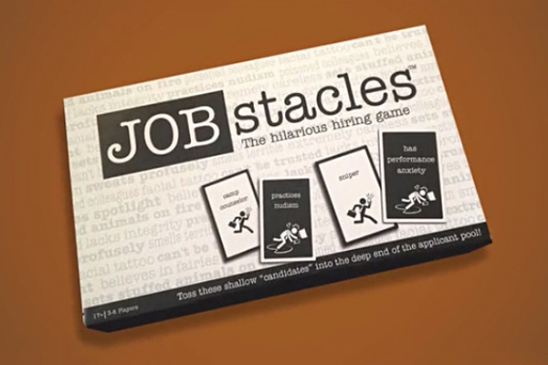 Board game mocks the recruitment process