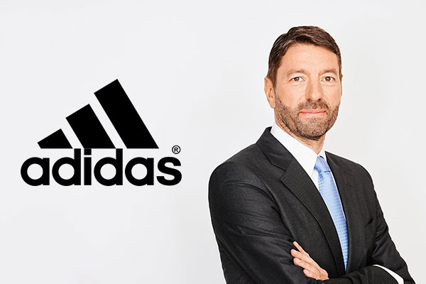 adidas' new CEO makes shares soar