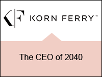 Korn Ferry: The CEO of 2040