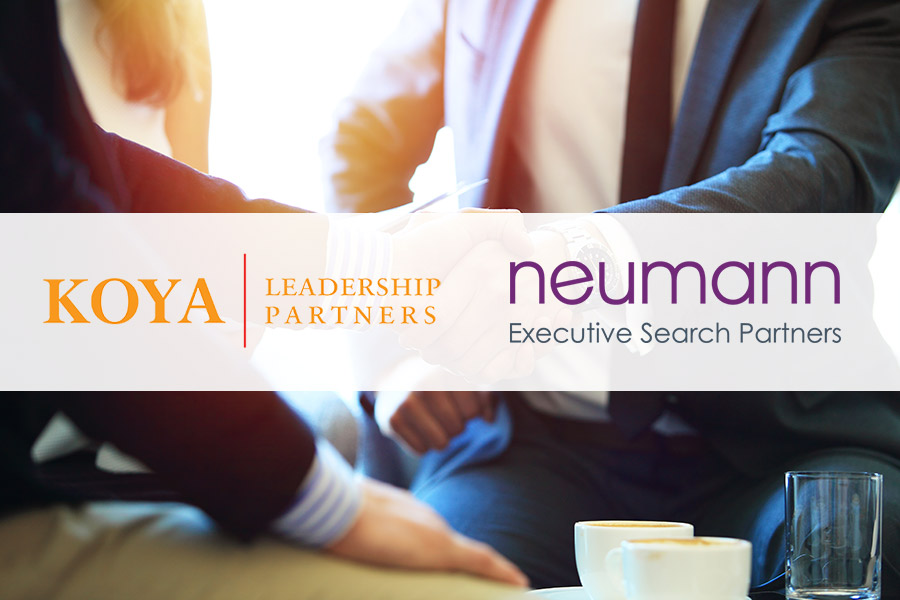 Koya Leadership Partners merges with Neumann Executive Search Partners