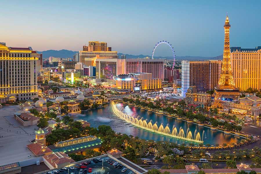 Barrington James Q&A: 'Vegas has it all'