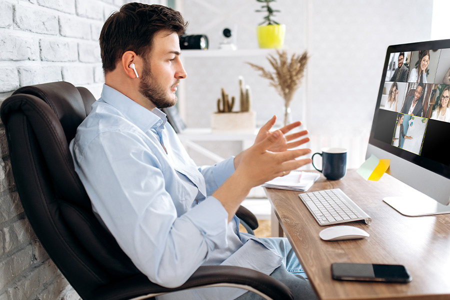 Are leaders oversharing on video calls?