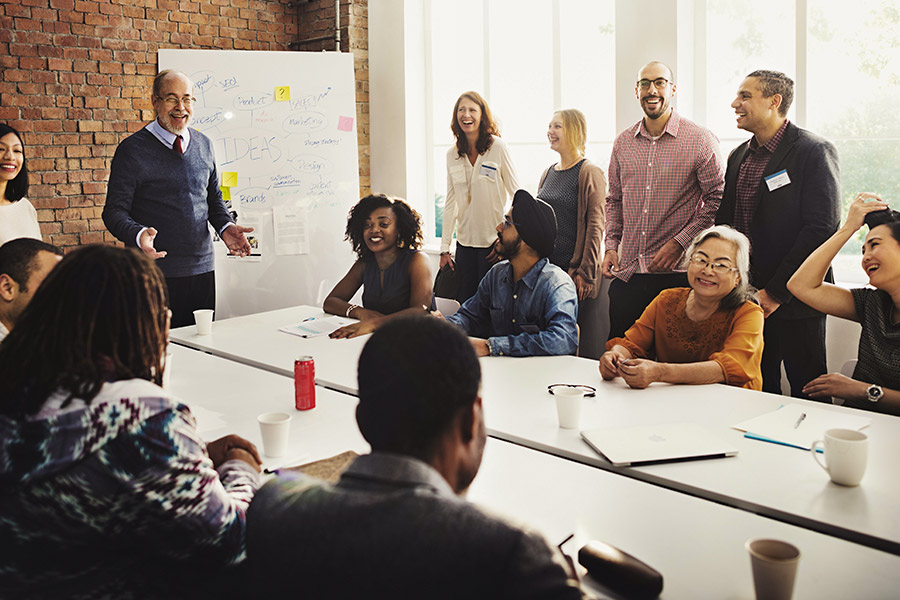 Leadership teams failing on diversity and data