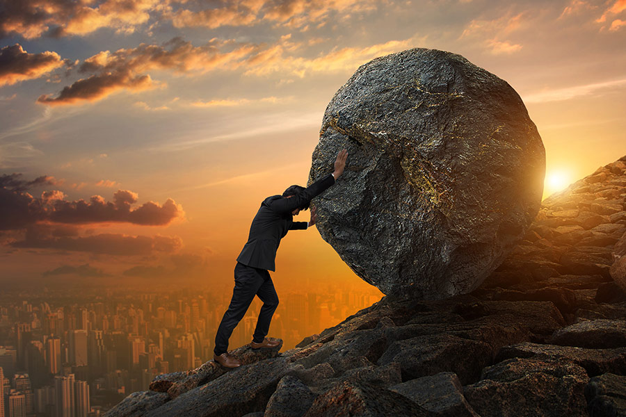 What are the challenges business leaders struggle with most?