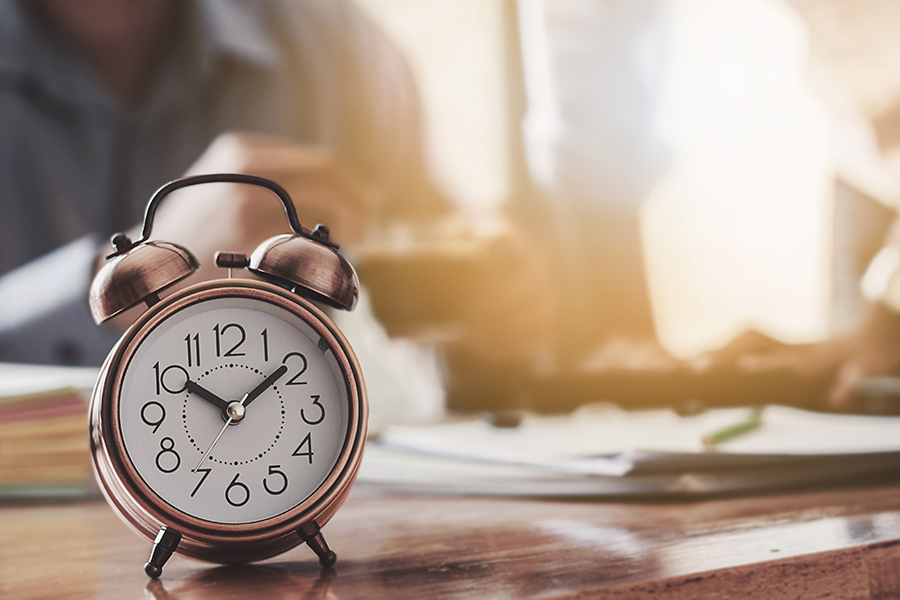 How to guarantee you leave the office on time