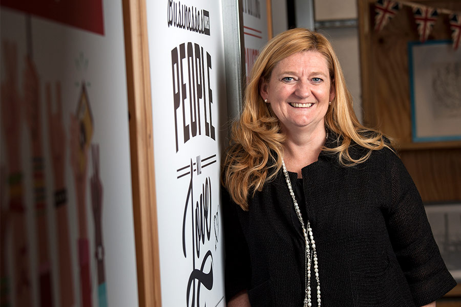 Climbing the ranks with Lorna Davidson, CEO of RedWigWam