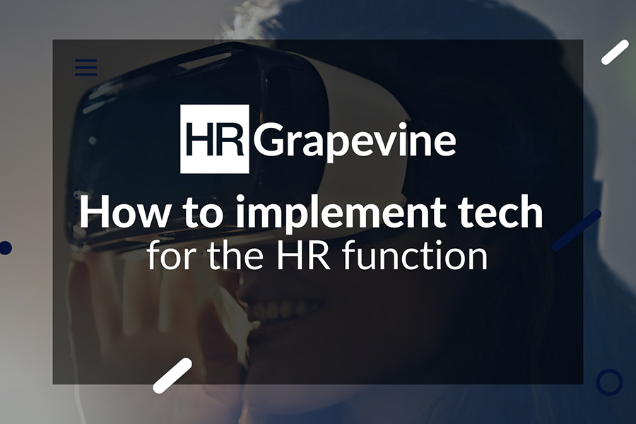 How can HR make tech work for them?