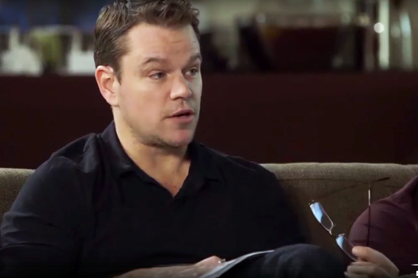 Matt Damon apologises for lecturing black female producer on diversity