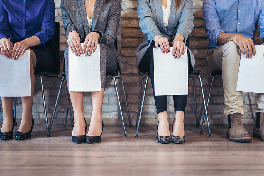 Can recruitment agencies help to get more men into 'female' roles?