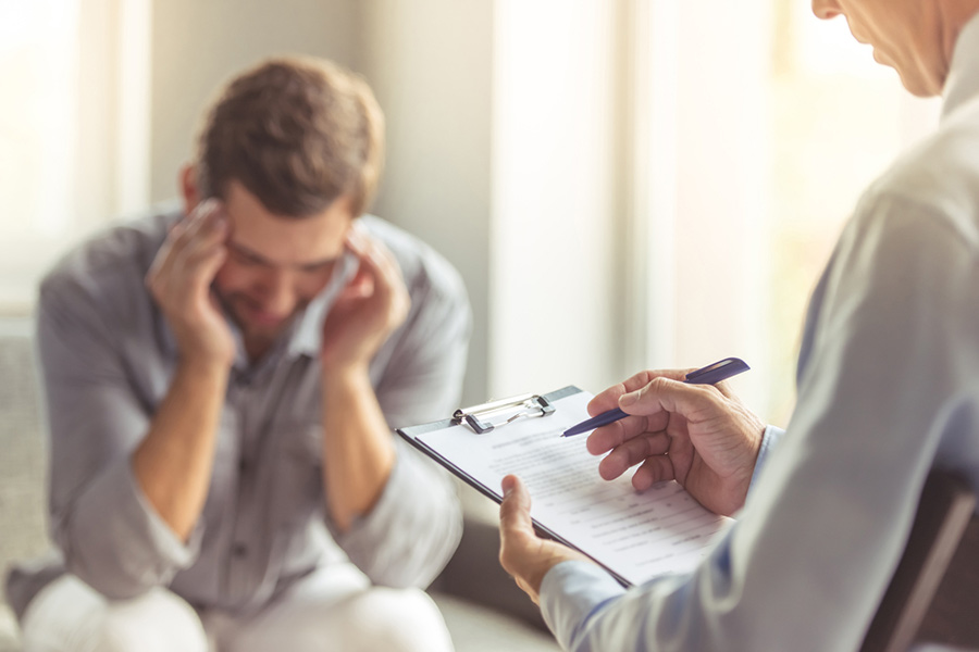 Shocking numbers of men blame poor mental health on job