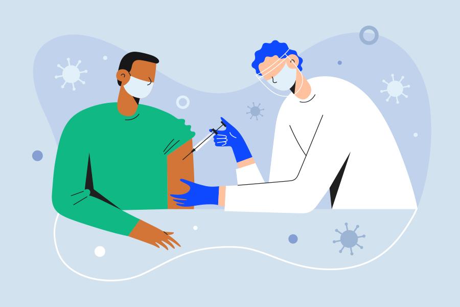 How do the coronavirus vaccines change HR practice?