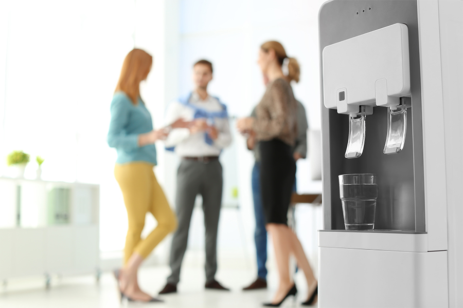 How to fake the water cooler moments in a remote office
