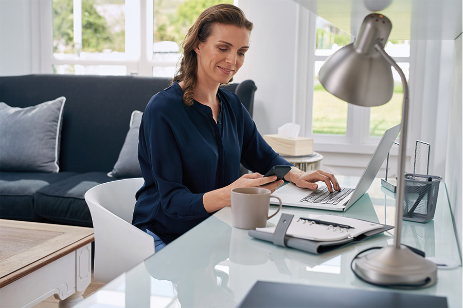 Majority of employees feel more productive working from home