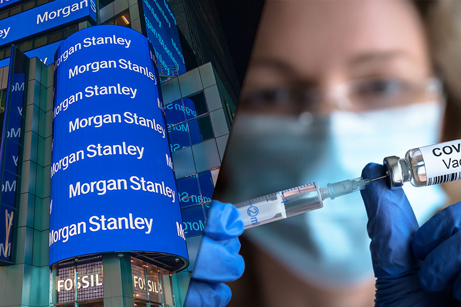Morgan Stanley to roll out OFFICE BAN for unvaccinated staff