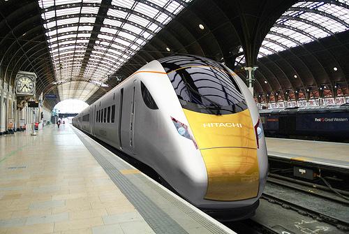 Hitachi to move rail business to UK, 1,500 jobs