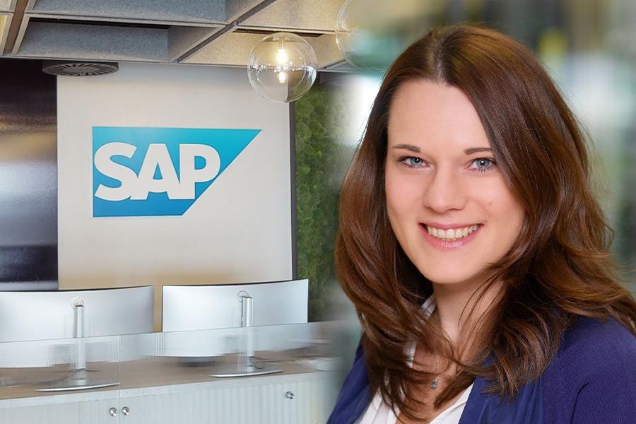 Jasmin Mantel, Head of HR atSAPUK