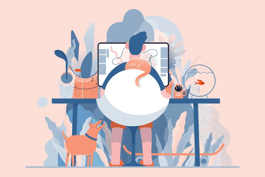 How is coronavirus impacting the world of work?