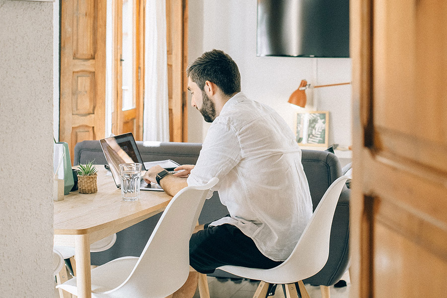 The wellbeing benefits of hybrid work