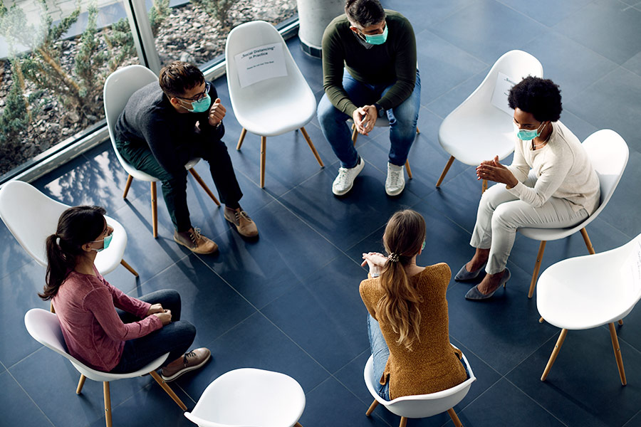 Building a post-lockdown wellbeing strategy that works for all