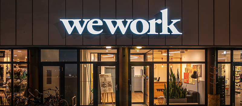 WeWork's approach to redefining the workplace