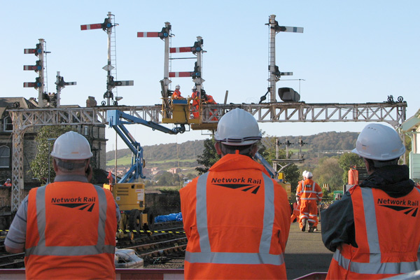 Network Rail staff use cars for work transport, trains not cost efficient