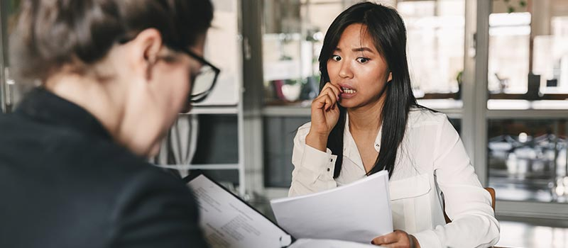 7 ways you can wreck your job interview