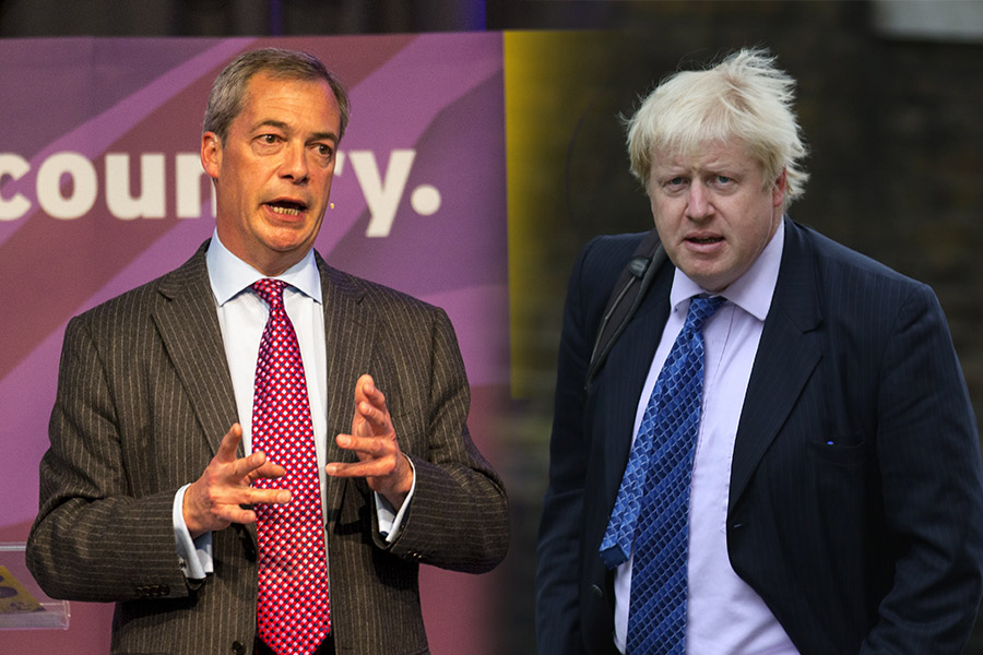 Trump backs Farage and Johnson as key figures