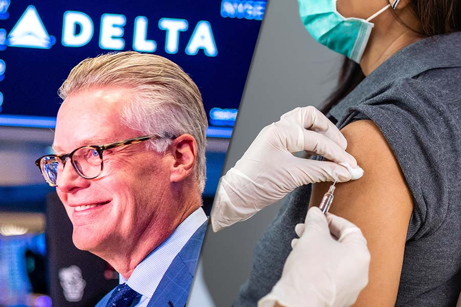 Delta CEO rejects need for hardline vaccine approach & it's working - here's what that means