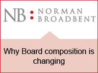 Why Board composition is changing