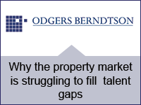 Why the property market is struggling to fill talent gaps