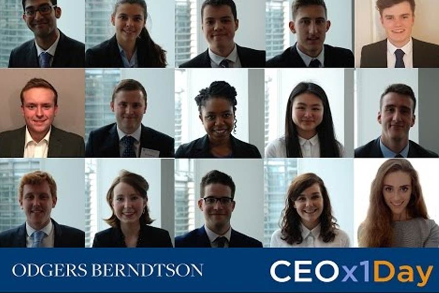 Odgers Berndtson reveals firms taking part in 'CEO for a Day' initiative