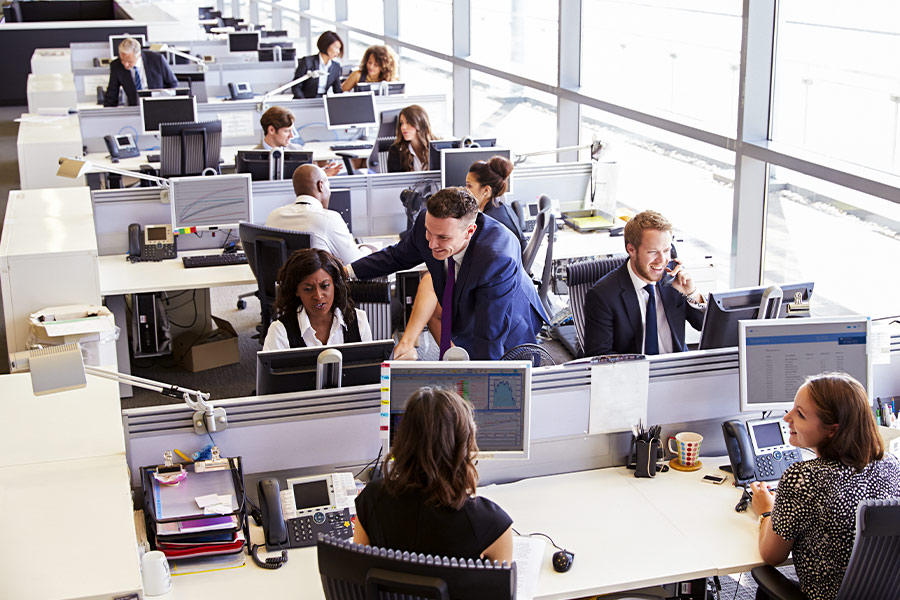 How your open plan office is affecting your work output