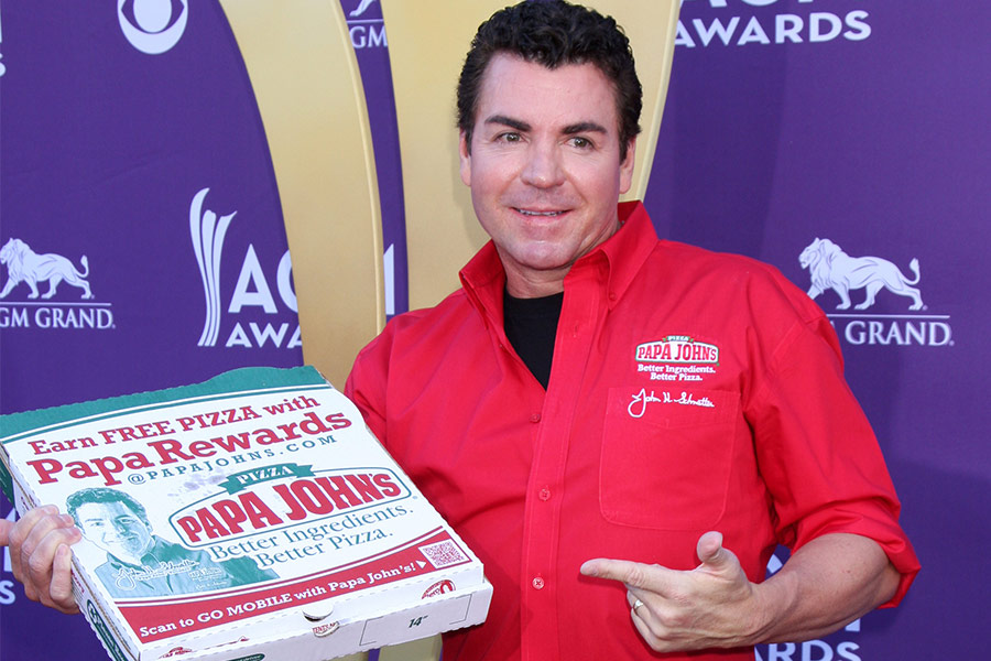 Founder of Papa John's pizza steps down over racist remark