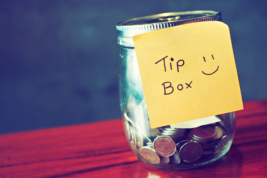 Should you tip your colleagues?