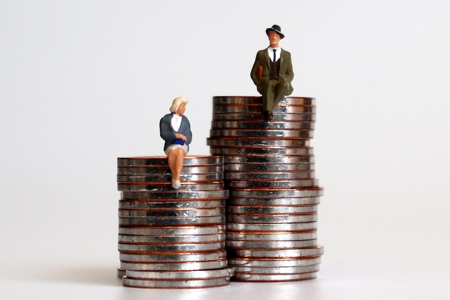 40% disparity between male and female pensions
