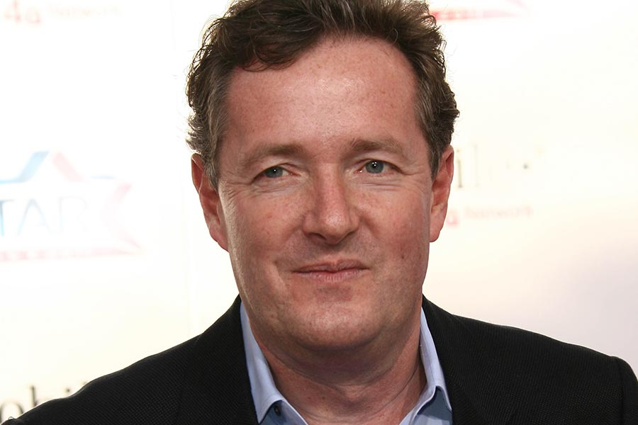 'Burnt-out' Piers Morgan starts work later than female colleagues