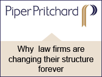Why law firms are changing their structure forever
