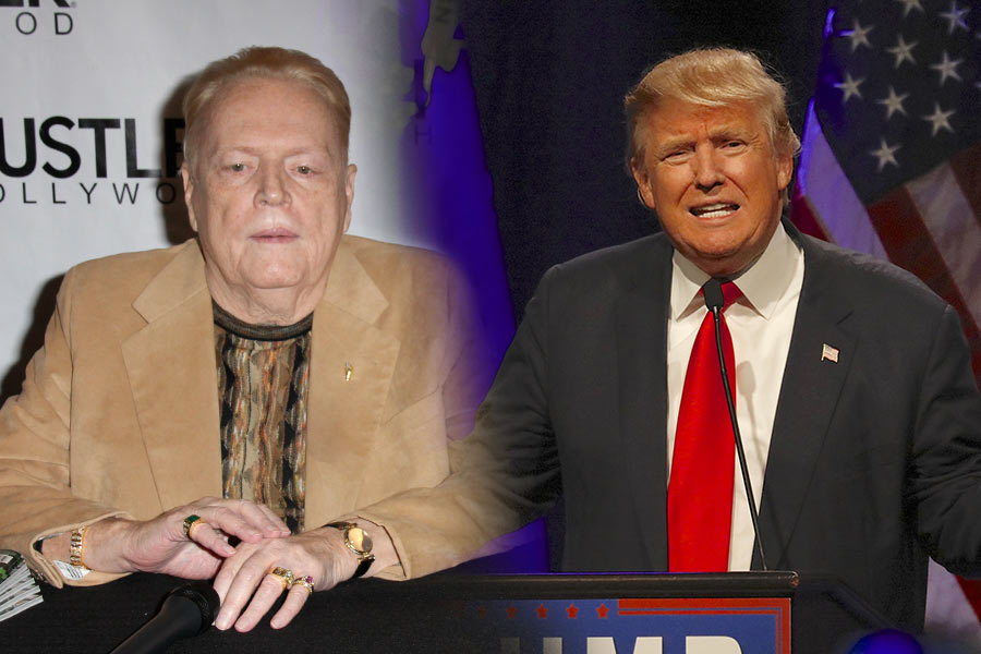 Political Punch-up: Trump vs Larry Flynt