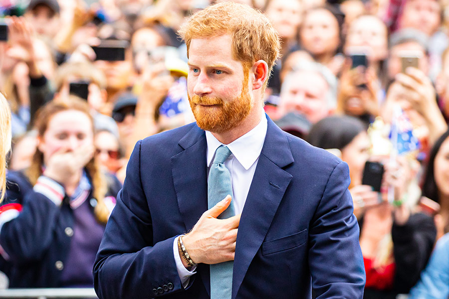 Prince Harry turns recruiter in SHOCK video