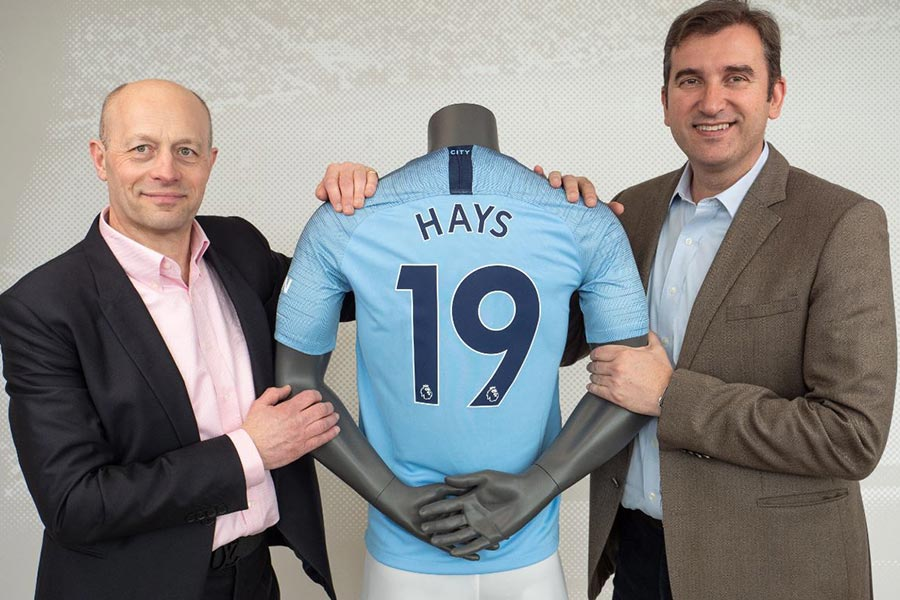 Hays renews recruiting partnership with Manchester City