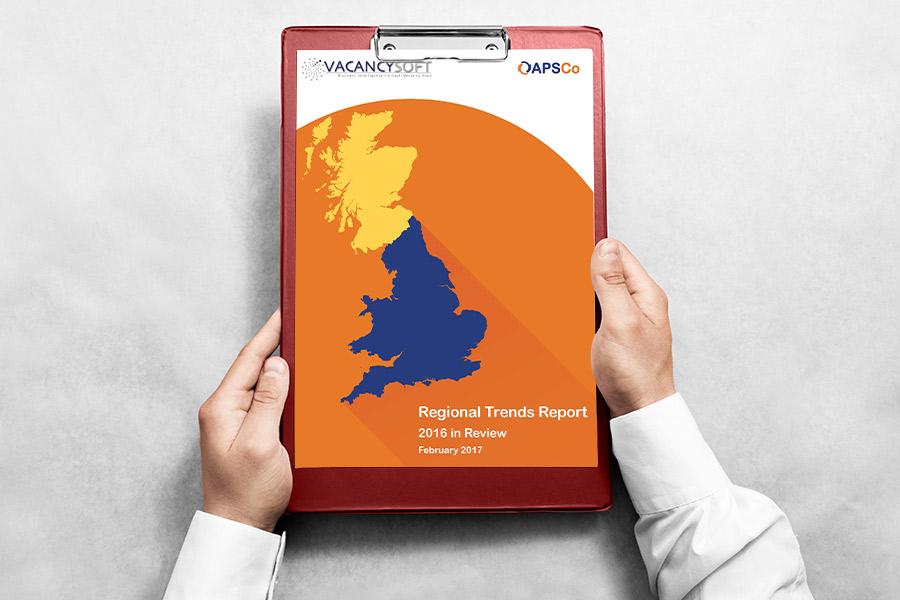 The regional recruitment trends of 2016