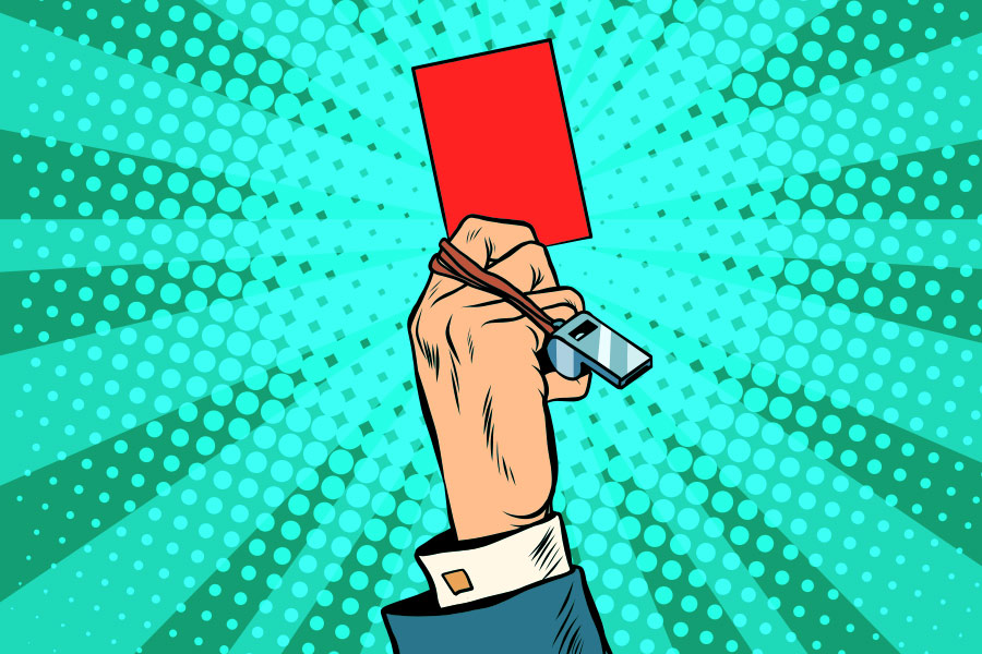HMRC handed red card over Premier League referee status