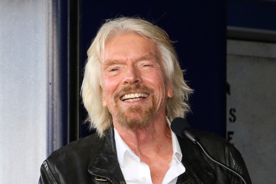Richard Branson shares his secret for success