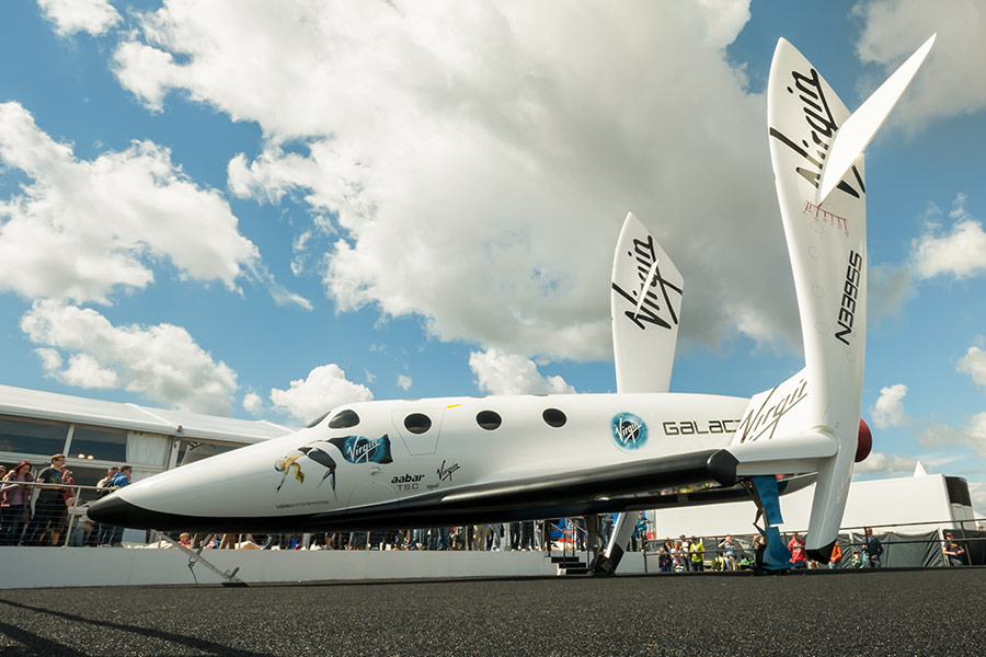 Richard Branson's space company takes flight