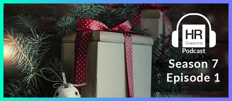 What is HR doing to reward staff this Christmas?